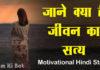 जीवन का सत्य – Hindi Motivational Story